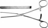 З-40-5т П Зажим кишечный эластичный д/детей, прямой, 170 мм