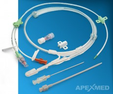 Набор инструментов для катетеризации подключичной вены